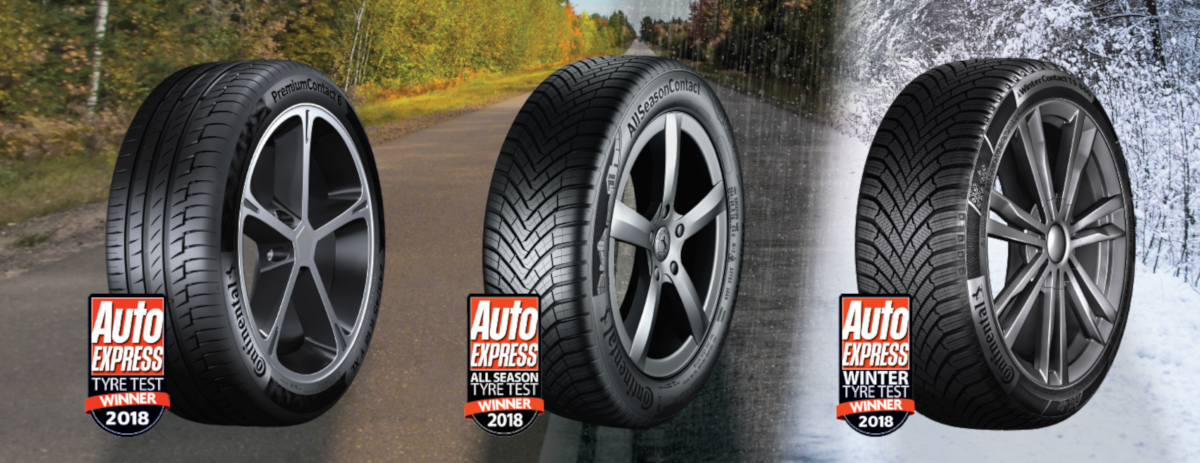 Free all-season tyre experience at Mercedes-Benz World