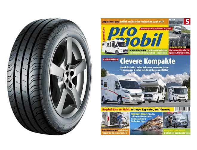 Van tyres get the Promobil test treatment