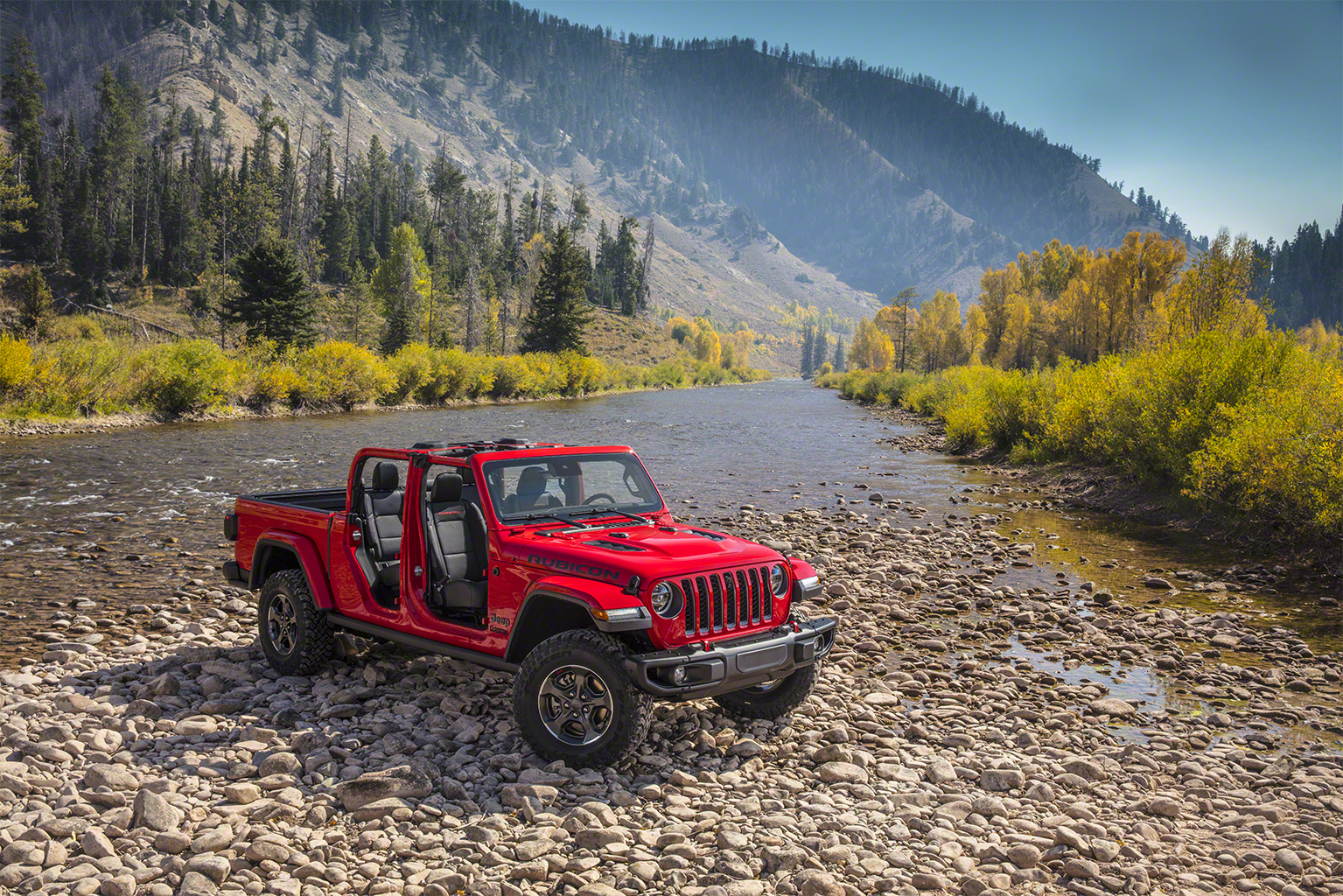 Falken tyres on new Jeep Gladiator