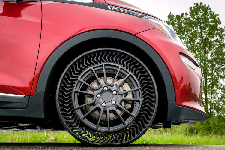 Michelin airless solution promises no more flat tyres, ever