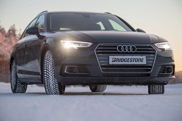 Top wet grip rating for Bridgestone's newest winter tyre