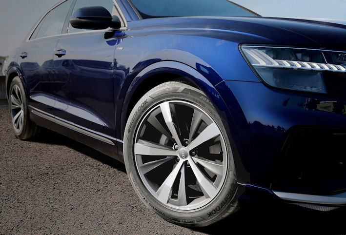 Hankook tyres for Audi Q8 in Europe, North America