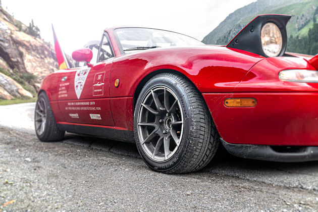 World record for Pirelli-shod MX-5
