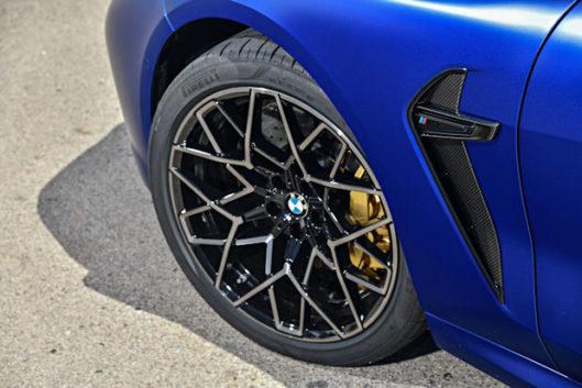 BMW choses Pirelli P Zero for M8