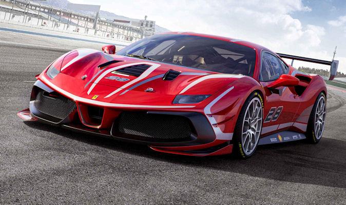 Pirelli tyres for Ferrari 488 Challenge Evo