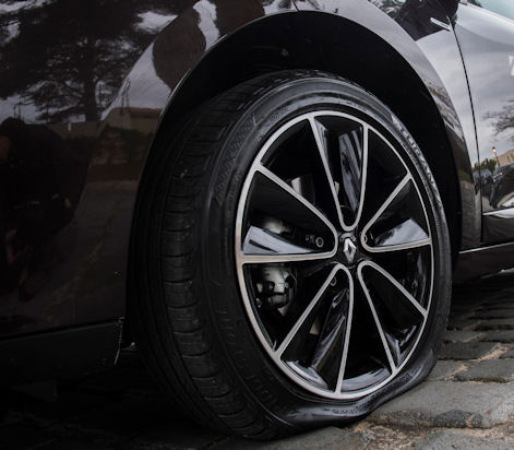 UK drivers want a full-size spare tyre