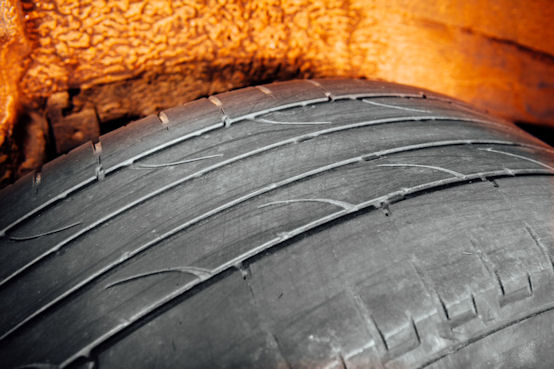 Trading Standards highlights problems with part worn tyres