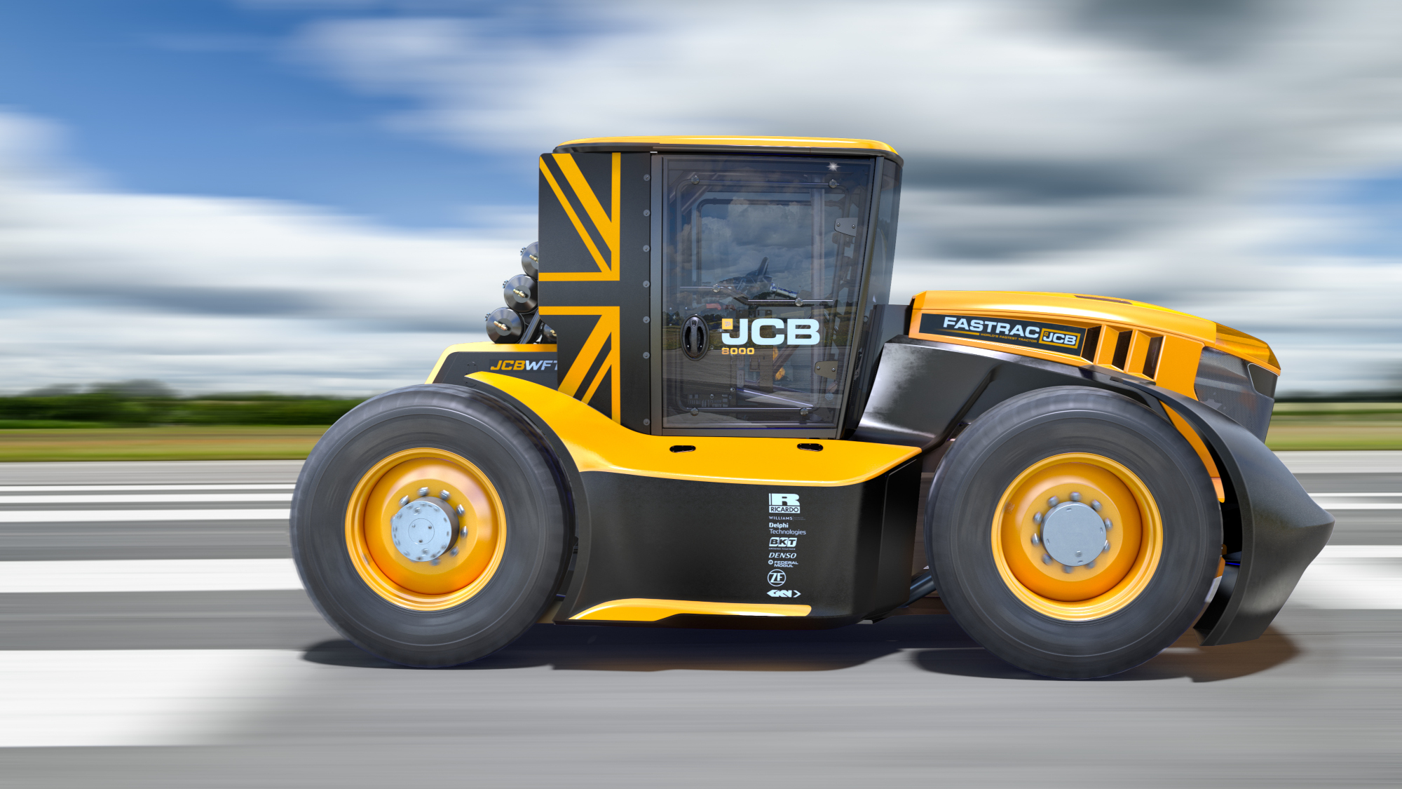 World's fastest tractor features GKN Wheels