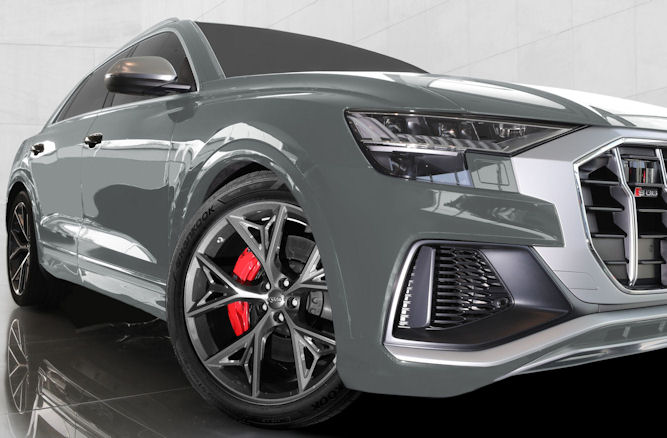 Hankook tyres approved for Audi SQ8