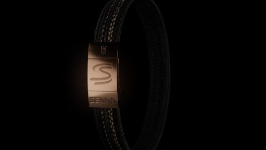 Bracelets made out of Senna European Grand Prix tyre