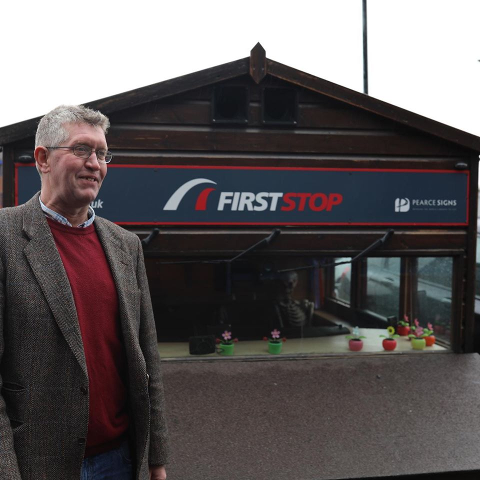 World's fastest Shed partners with First Stop