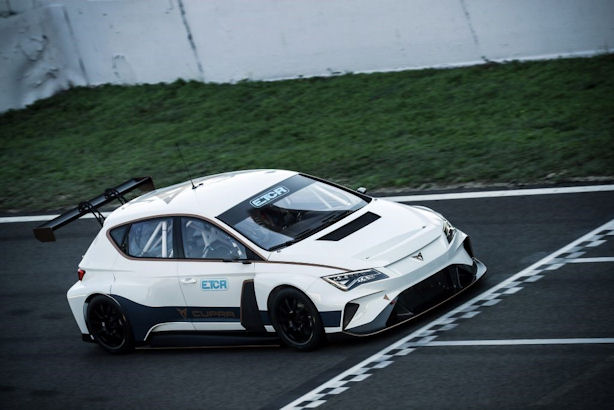 Goodyear tyre supplier to all-electric Pure ETCR touring car series
