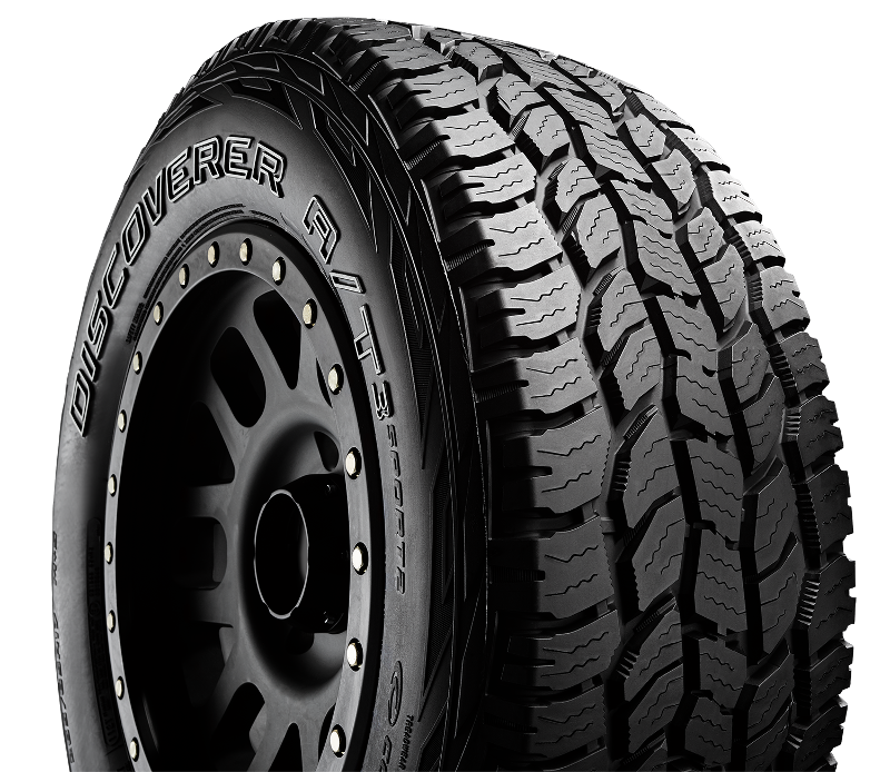 Cooper Discoverer A/T3 Sport 2 improves all-terrain performance