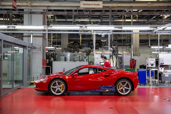 Italian supercars back in production