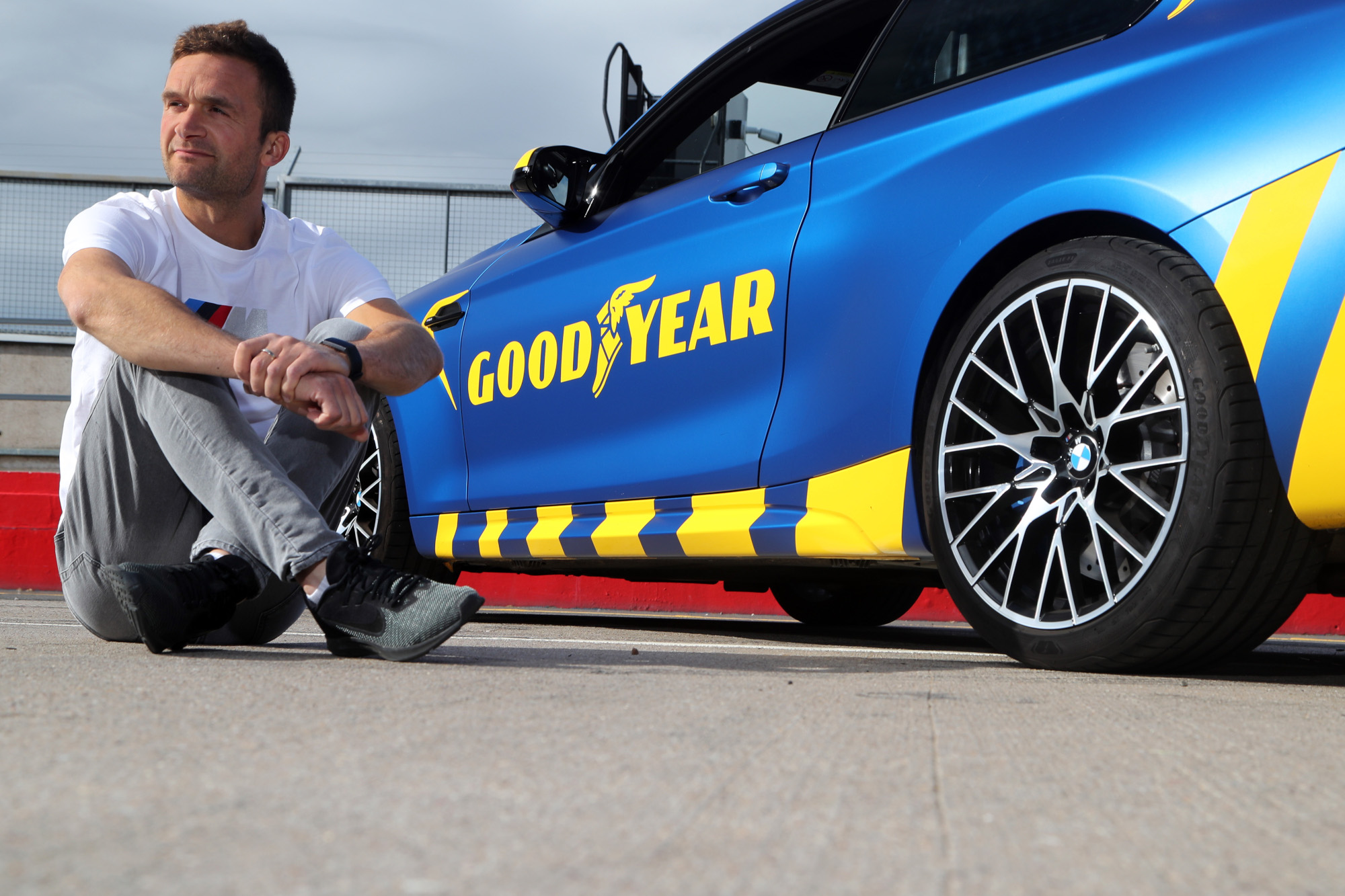 BTCC champion tests Goodyear Eagle F1 SuperSport tyres at Donington