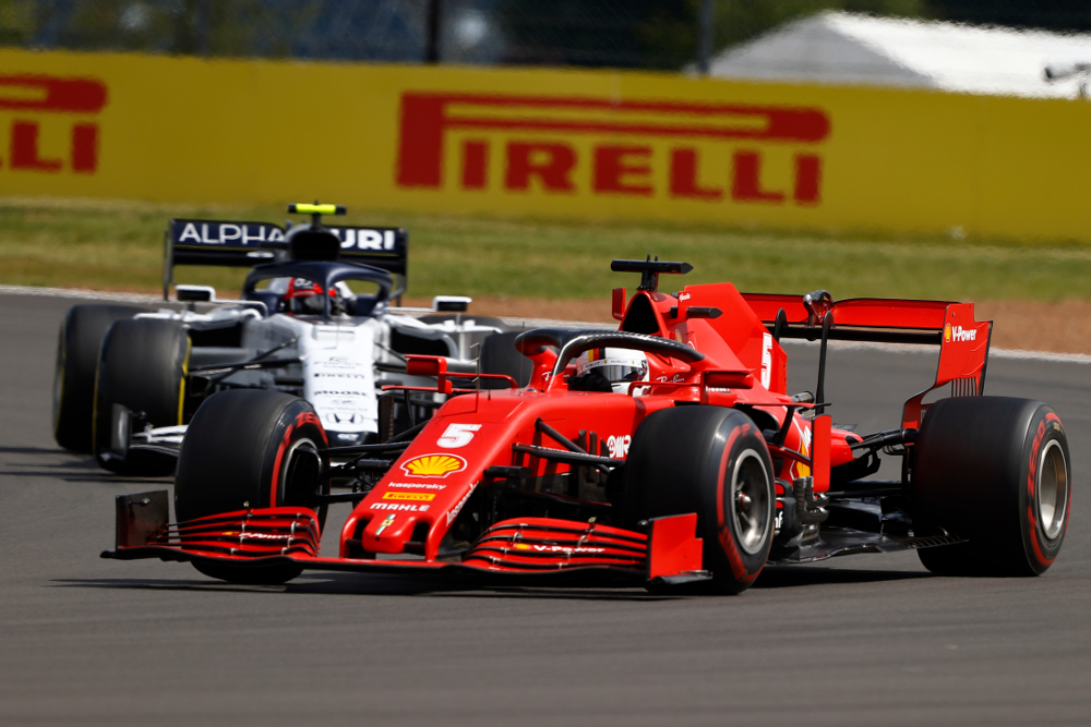 Why did Pirelli's F1 tyres fail at the British Grand Prix?