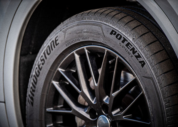 'New excellence in sports performance' – Bridgestone Potenza Sport