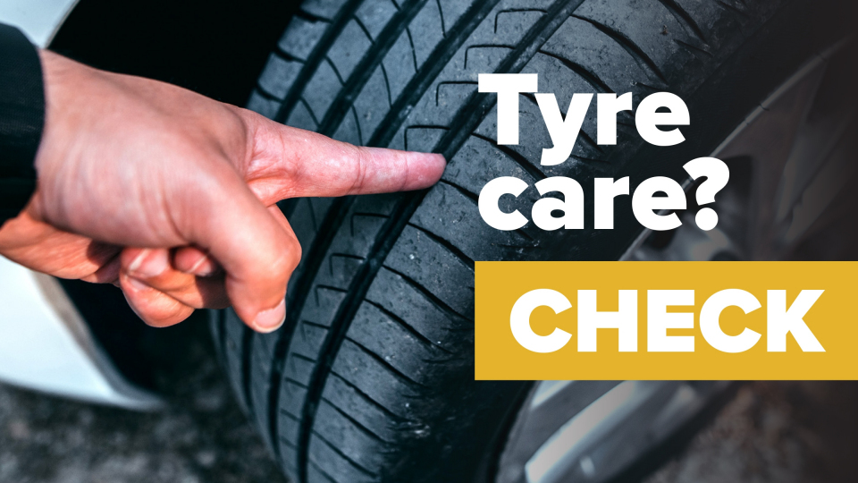 Don't ignore tyres during lockdown