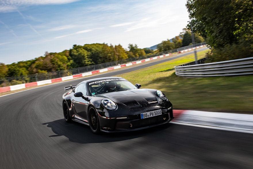 Michelin tyres for latest Porsche 911 GT3