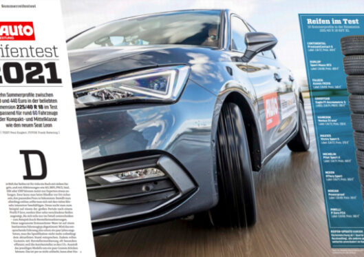 Autozeitung: 5 from 10 tyres recommended