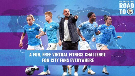 Get fit with Manchester City F.C. & Nexen