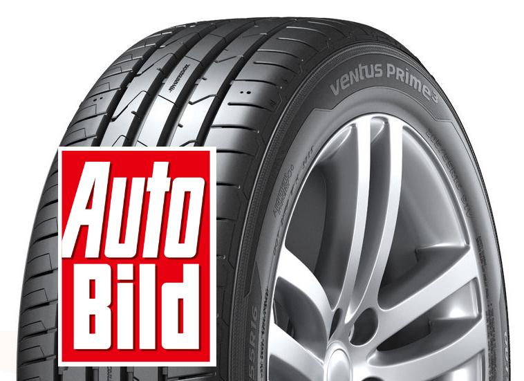 Auto Bild summer tyre test: Hankook impresses in preliminary round