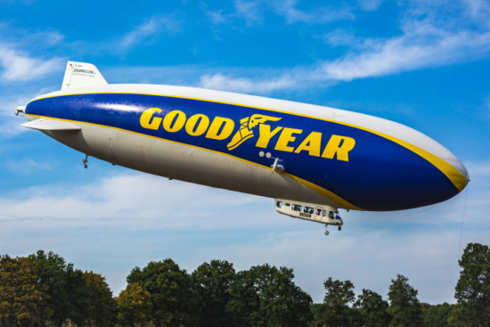 Goodyear Blimp heading for South Coast after London tour