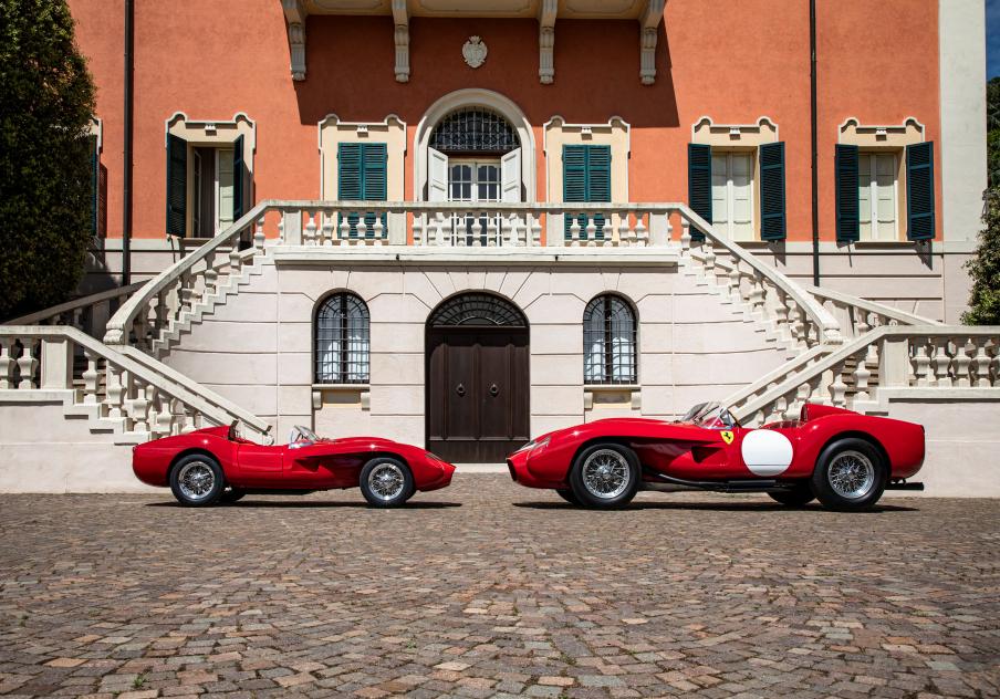 Pirelli tyres for scaled-down Ferrari 250 Testa Rossa