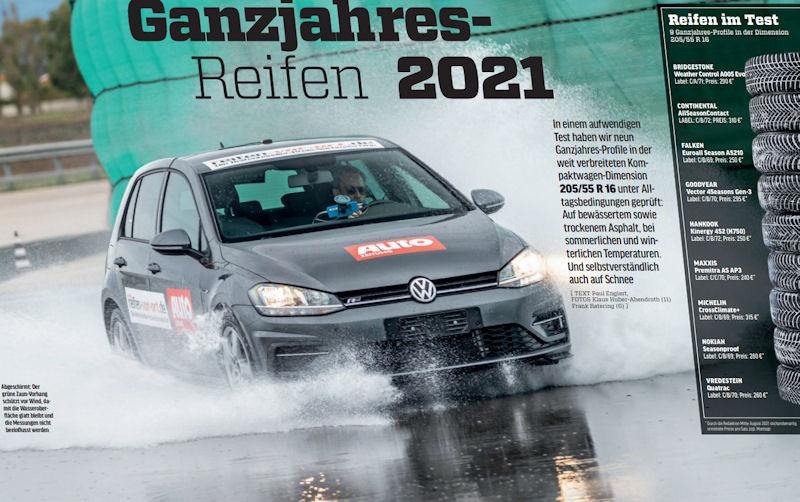Autozeitung all-season tyre test